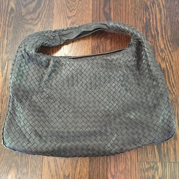 Bottega Veneta Handbags - Bottega Veneta Veneta Hobo Intrecciato Napa Large c802f2d2b1